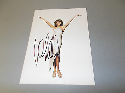 Whitney Houston  signed signiert autograph Autogramm 13x18 Foto in person