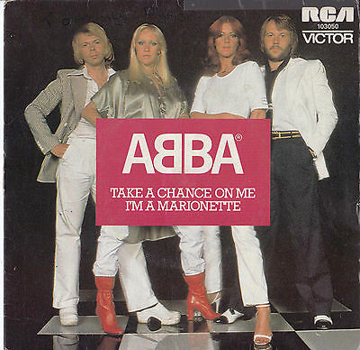 ABBA Take A Chance On Me / I'm A Marionette 45