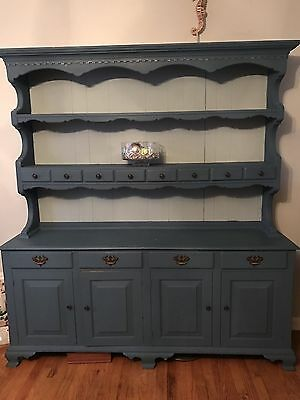 Vintage Painted Cupboard / Hutch 1900's Pennsylvania