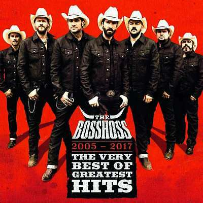 THE BOSSHOSS - The Very Best Of Greatest Hits (2005-2017) -- CD  NEU & OVP
