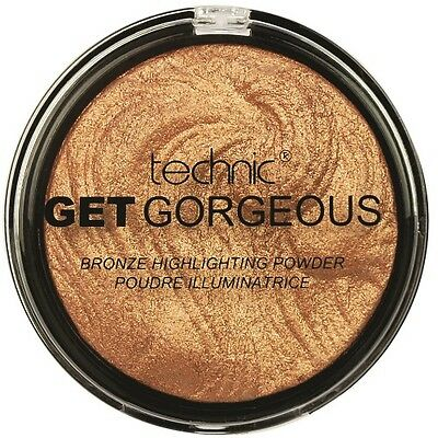 Technic Get Gorgeous Superfine Highlighting 24ct GOLD Highlighter Puder12g (24)