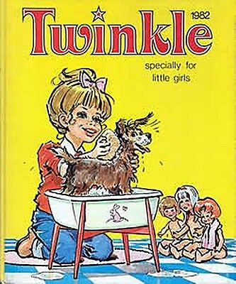 Twinkle - Specially for Little Girls - 1982 (Annual), Acceptable Condition Book,