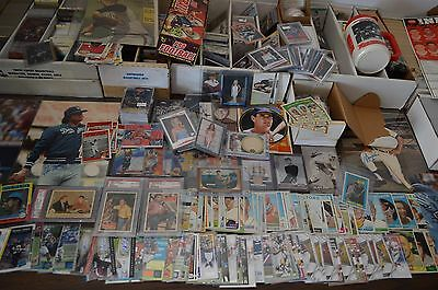 Large Sports Card Collection!!! Around 5,000 Cards!!! Mantle, Etc. Must See!!!