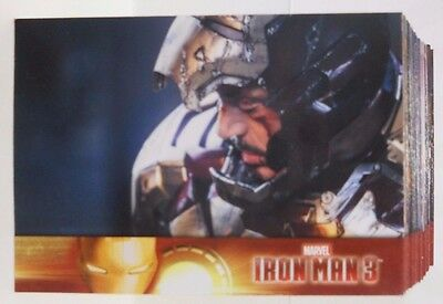 2013 Upper Deck Marvel Iron Man 3 Complete 1-60 Card Set