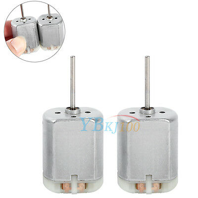 2Pcs 22mm Long Shaft FC-280SC-20150 Car Door Lock Actuator Motor Repair Metal EB