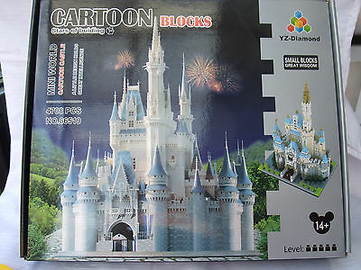 Minnie  and Mickey Castle ( Disney Castle) 4708 pieces