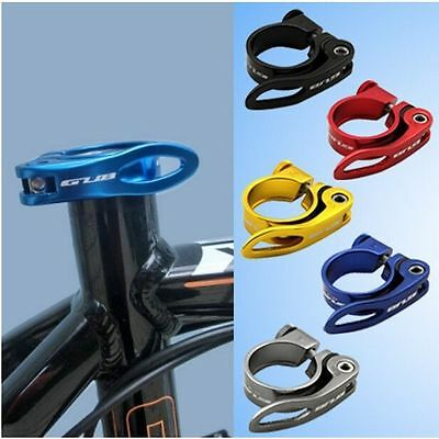 31.8mm Bike Cycling Parts Quick Release Aluminum Alloy Seat Post Clamp Bicycle