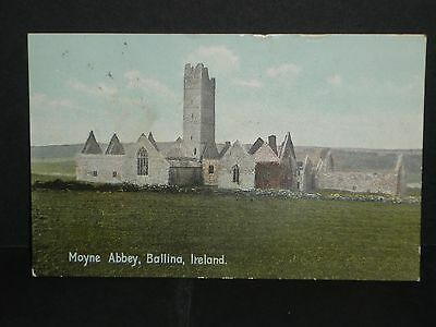 Ireland - Moyne Abbey- Ballina - 1910