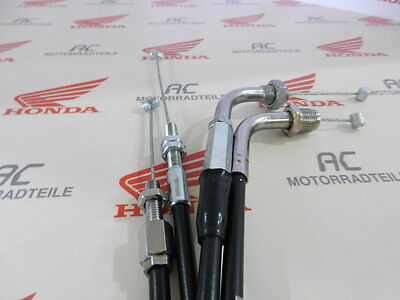 Honda CB 550 Four K3 Gaszug Set A+B Auf/Zu Throttle Cable Kit Open Close SOHC