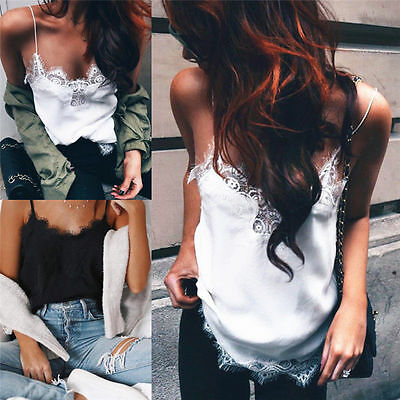 Fashion Women Summer Casual Chiffon Sleeveless Shirt Vest Tank Tops Loose Blouse