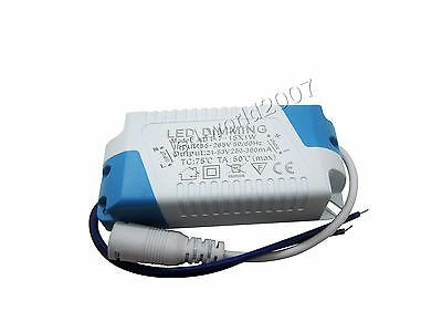5x Dimming 7-15pcs 1W Led Driver Constant Current Power Supply 21-53V 280-300mA