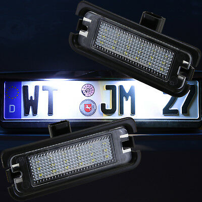 sehr helle LED SMD Kennzeichen Beleuchtung Ford Mustang 6 VI ab 2014 [7910]
