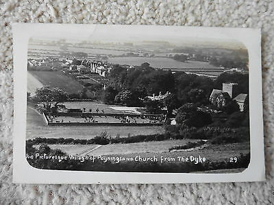 Poynings And Church From The Dyke, 1911 Posted, Real Photo Postcard