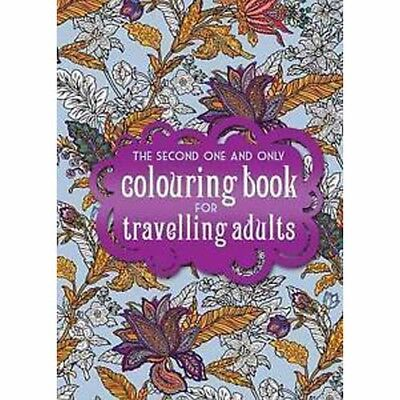 The One Second And Only Coloring Book For Travelling Adults