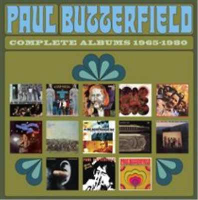 Paul Butterfield-Complete Albums 1965-1980  (UK IMPORT)  CD / Box Set NEW