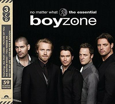 BOYZONE NO MATTER WHAT THE ESSENTIAL 3 CD (Released 14th April 2017)