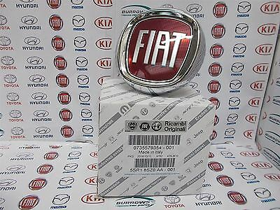 Genuine Fiat Punto Evo & Bravo Tailgate Boot Badge Emblem Push Button 735579354