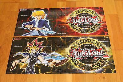 YU-GI-OH ! JCC - 2 Tapis de Jeu COLLECTION LEGENDAIRE 3 et 4 ( LC03 & LC04 )