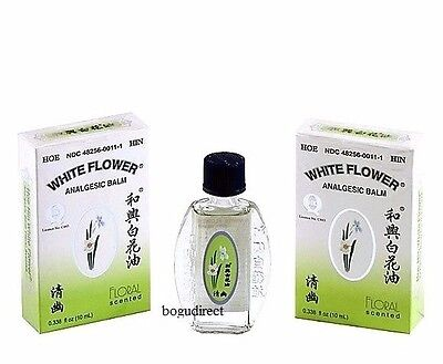 Hoe Hin White Flower Analgesic Balm Floral Scented 0388 Floz
