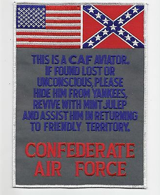 Confederate Air Force back patch