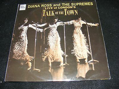 DIANA ROSS and the Supremes LP Made In England LIVE AT LONDON'S TALK OF THE TOWN