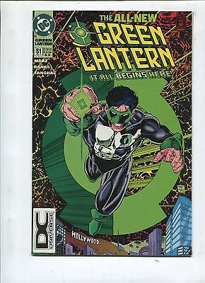 Green Lantern #51 - Second Print! Changing The Guard! - (9.2) 1994