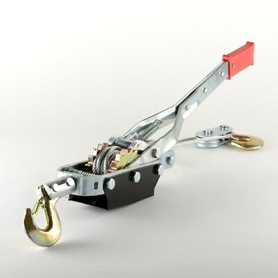 ATE Tools 5 Ton Hand Puller Heavy Duty Winch Pull Hoist Come Along Cable Lever