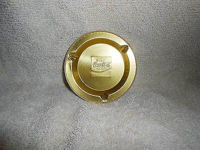 Coca-Cola Aluminum Ashtray in Unused Condition