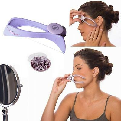 Spring Convenient Facial Hair Remover Threading Epilator Defeatherer Tool HOT BD