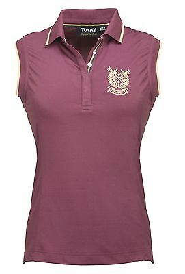 TOGGI SCOPELLO ladies SLEEVELESS TECHNICAL TOP  juniper UK 12
