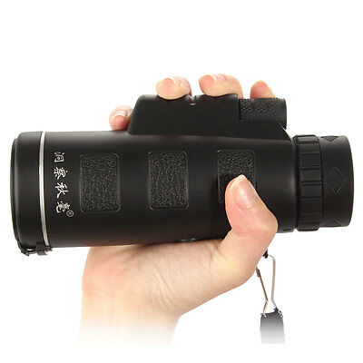 Universal 10x40 Hiking Concert Camera Lens Zoom Telescope+Holder For iphone 7 6