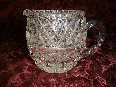 Retro Patterned Glass Jug