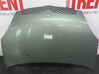 2004 TOYOTA YARIS 5 Door Hatchback Green Painted Bonnet (Tag 437668)
