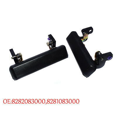 For 86-95 SUZUKI SAMURAI OUTSIDE DOOR HANDLE LEFT & RIGHT 8282083000 8281083000