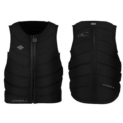 2017 O'Neill Gooru Tech Front Zip Comp Vest, Wakeboard, Waterski, Kneeboard