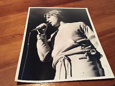 PETER GABRIEL: Unpublished photo Live in Dallas, on First tour!