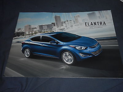 2016 Hyundai Elantra Color Brochure Catalog Prospekt
