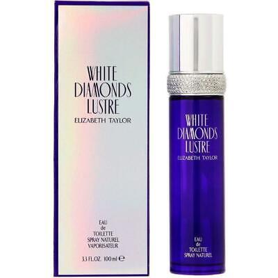 White Diamonds Lustre by Elizabeth Taylor for her EDT 3.3 / 3.4 oz NEW IN BOX