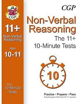 10-Minute Tests for 11+ Non-Verbal Reasoning (Ages 10-11), CGP Books | Paperback