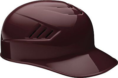 Rawlings Catcher and Base Coach CFPBH-MA-714 6 7/8 - 7 5/8 Maroon Batting Helmet