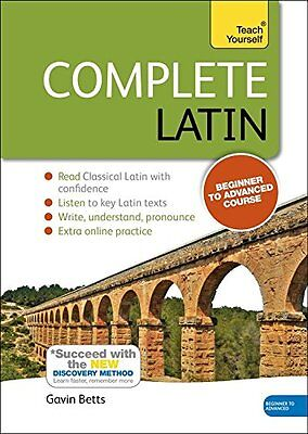 Complete Latin (Learn Latin with Teach Yourself) (Book & Audio CD),PB,Gavin Bet