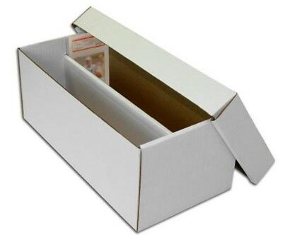 50 New Max Graded Card Cardboard Storage Shoe Boxes for Graded Cards -Wholesale