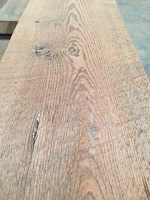 "12 Antique Reclaimed Heart Pine 2""X8""X14' Wood  Lumber 100 Years Old"