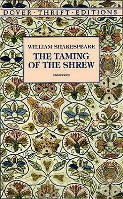 NEW Taming of the Shrew By WILLIAM SHAKESPEARE Paperback Free Shipping