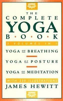 NEW The Complete Yoga Book By James Hewitt Paperback Free Shipping