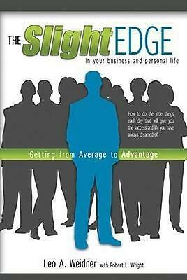 NEW The Slight Edge By Leo A Weidner Paperback Free Shipping
