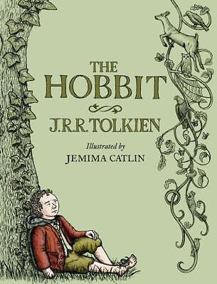 NEW The Hobbit Illustrated Edition By J R R Tolkien Hardcover Free Shipping