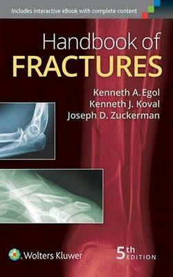 NEW Handbook of Fractures By Kenneth A. Egol Paperback Free Shipping