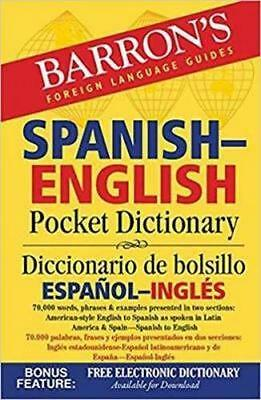 NEW Barron's Spanish-English Pocket Dictionary By Dr. Margaret Cop Paperback