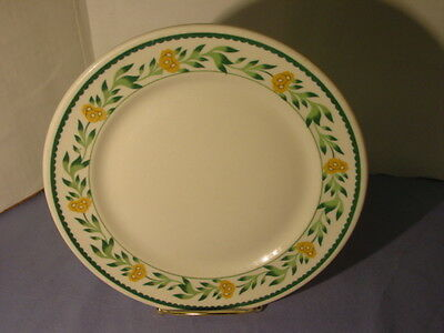 Vintage 1935 Mayer China Made For Longchamps Restaurants Dinner Plate